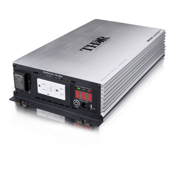 Thor THPW1500 1500 Watt Pure Sine Wave Inverter