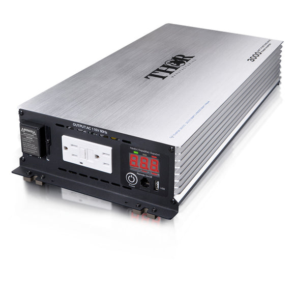 Thor THPW3000 3000 Watt Pure Sine Wave Inverter