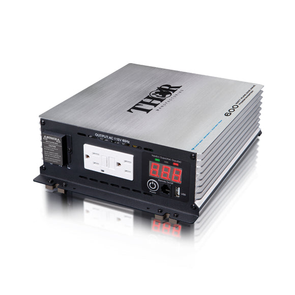 Thor THPW600 600 Watt Pure Sine Wave Inverter