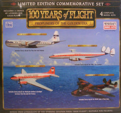 1/144 Propliners Of The Golden Era limited edition model aircraft kits.