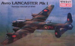 1/144 Lancaster Mk.1 WW 2 British bomber model aircraft kit.