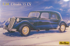 1/24 Citroen 15 CV plastic model car kit.
