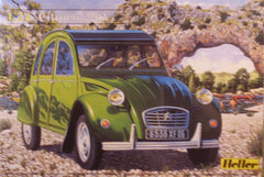 1/24 Citroen 2 CV plastic model car kit.