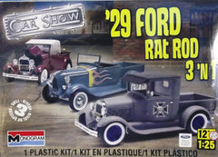 1/25 1929 Ford pickup rat rod 3 'n 1 model truck kit.