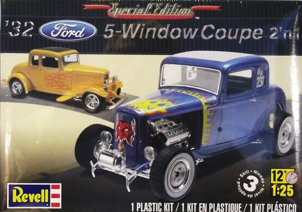 revell 1 25  Revell 1/25 1932 Ford 5-Window Coupe 2 'n 1 | Full Circle Hobbies