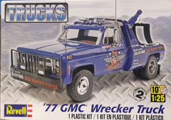 1/25 1977 GMC tow / wrecker model truck kit.