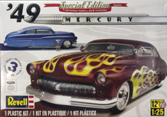 1/25 1949 customized Mercury Coupe model car kit.