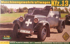 1/72 WW 2 Kfz.13 armored car military vehicle model kit.