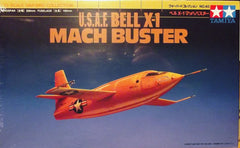 1/72 Bell X-1 USAF experimental rocket aircraft model kit.