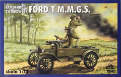 1/72 WW 1 Ford Model T Observation Vehicle model car kit.