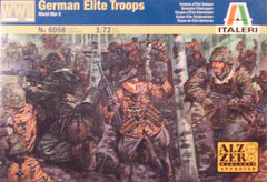 1/72 WW 2 German Elite Troops military figures.