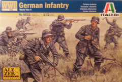 1/72 WW 2 German Infantry military figures.