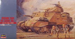 1/72 WW 2 M3 Grant Mk.1 medium AFV model kit.