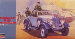 1/72 Mercedes Benz G4 / W31 WW 2 German staff car model kit.