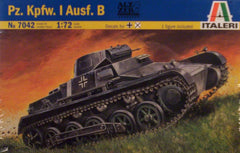 1/72 WW2 German Pz.Kpfw I Ausf.B model tank kit.
