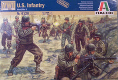 1/72 WW 2 U.S. Infantry military figures.