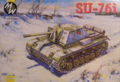 1/72 WW 2 Soviet SU - 76i AFV military model kit.