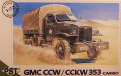 1/72 WW 2 US Army GMC 353 cargo truck model kit.