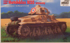 1/72 WW 2 French AFV model kit.