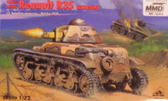 1/72 WW2 French AFV military model kit.