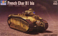 1/72 WW 2 French Char B1 bis AFV model kit.