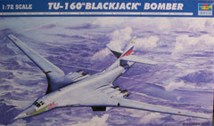 1/72 Tu-160 Russian Blackjack bomber model aircraft kit.