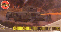 1/76 scale Churchill Crocodile AFV.
