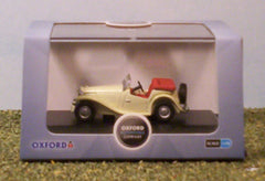 1/76 / OO gauge MG TC (cream) die cast model car.