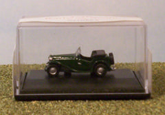 1/76 MG TC (British Racing Green) die cast model car.
