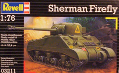 1/76 WW 2 U.S. Sherman Firefly AFV model kit.
