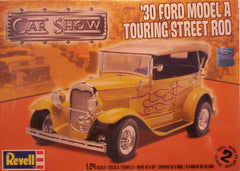 1/24 1930 Ford Model A Touring street rod model car kit.