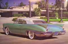 1/24 1958 Cadillac Eldorado Biarritz convertible model car kit.