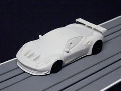1/64 / HO Ferrari 458 GT3 slot car.