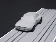 1/64/ HO AFX Alfa Romeo Giulia slot car body.