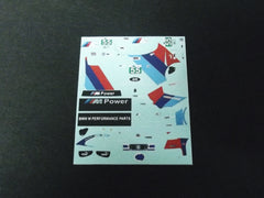1/64 / HO BMW Z4 GT3 M Coupe M Power #55 slot car decals.