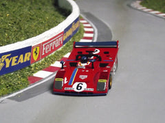 AFX Tomy Ferrari 312PB slot car body.