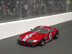 AFX Ferrari Daytona slot car body.