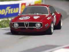 1/64 / HO resin cast Alfa Romeo Giulia slot car.