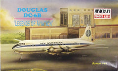 1/144 Douglas DC-6B plastic model airliner kit.