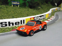 Mega G+ Porsche 914/6 slot car.