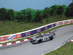 Resin Porsche 917 slot car body kit.