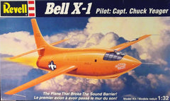 1/32 Bell X-1 plastic military model aircraft kit.