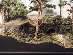 1/72 diorama European stone bridge kit.