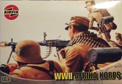 1/72 WW 2 German Africa Corps military figures.