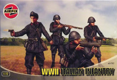 1/72 WW 2 Italian Infantry military figures.