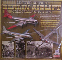 1/144 Berlin Airlift Commemorative Set. 3 model aircraft kits.