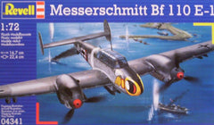 1/72 BF 110E-1 WW 2 German fighter/bomber model aircraft kit.