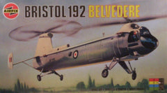 1/72 scale Bristol 192 Belvedere helicopter model kit.