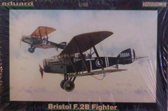 1/48 WW 1 Bristol F.2 B military model aircraft kit.
