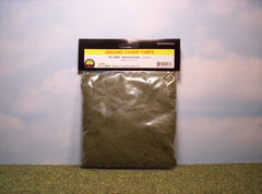 Coarse Burnt Grass scenic turf for dioramas & slot car layouts.